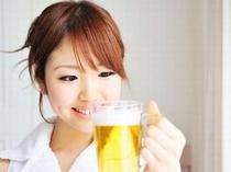 生ビール(中)サービス