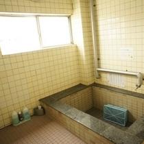 こちらが大浴場です!一日の疲れをここで洗い流して下さい!