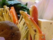 ミニ鍋も豪華な食材♪健康を考えた食材を選んでます♪