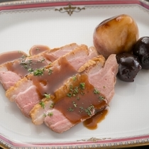 【最上級和洋会席】牛フィレ肉のステーキ 一例