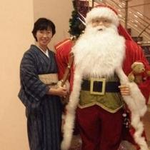 女将とクリスマス
