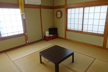 客室(和室8畳)の一例
