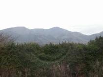 【貸切ジャグジー】 ジャグジーから眺めた箱根連山