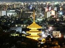 八坂の塔(夜景)