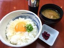 岡山美咲町の玉子かけご飯