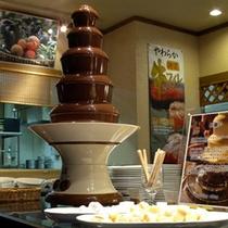 チョコフレートファウンテン(夕食)