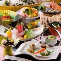 地魚お造り付き料理イメージ