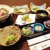 *【夕食一例】信州の旬の幸をふんだんに活かした料理はどれも絶品です!