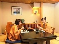 個室料亭でのんびりプライベートなお食事をお愉しみ下さい