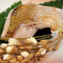 *高級魚のどぐろの「塩焼き」