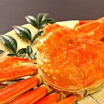 ゆで蟹(二人前)