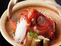 金目鯛の煮付け(1例)