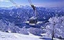 冬の八海山ロープウェー