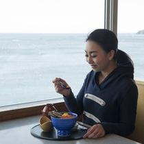 海の見えるレストラン「シーサイド」