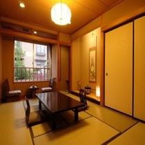 【新館】 和室10畳+広縁 (西館)