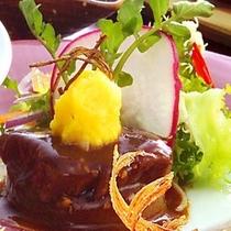 北海道産牛フィレ和風ステーキ
