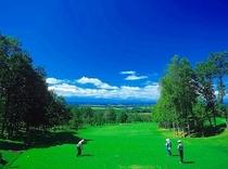 十勝川温泉近郊のゴルフ場(一例)