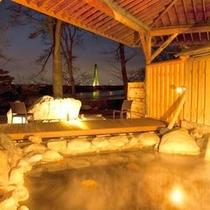 新オープン露天風呂 夜景イメージ