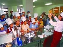 柳月スイートピアガーデン お菓子作り体験