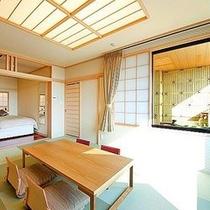 【露天風呂付客室 展望和洋室】