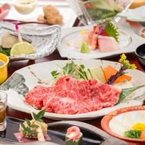 ◆上州牛会席(しゃぶしゃぶ)◆