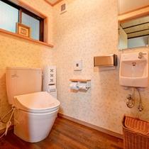 *1F和室(トイレ付)/ウォシュレットタイプを完備いたしております。