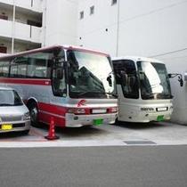 駐車場 バス2