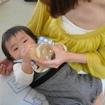 赤ちゃんも安心 授乳