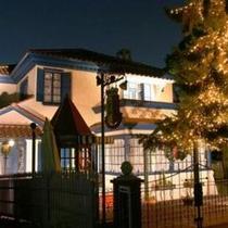 オランダ館(旧エリオン邸)のライトアップ・夜景