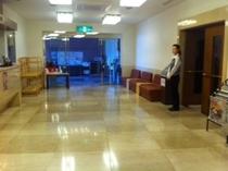 ホテル内ロビー