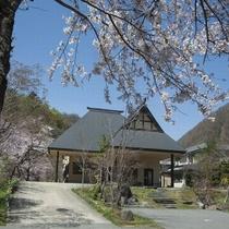 新館「桐の花」外観です。