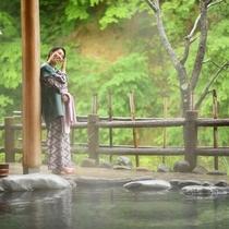 女性専用露天風呂【せせらぎの湯】