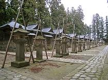 歴代藩主の廟