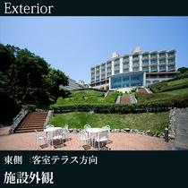 ◇施設外観(東側 客室テラス方向)A