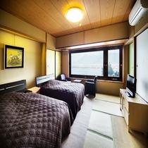 ■和室ツインベッド