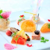【Dinner】フレンチフルコース/前菜※一例