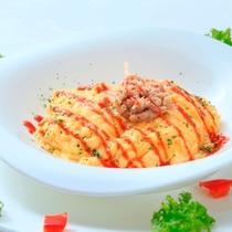 【朝食】一番人気★オムサラダ※一例
