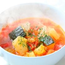 【Dinner】Light フレンチコース/スープ※一例