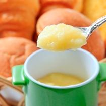 【朝食】自家製!林檎バター