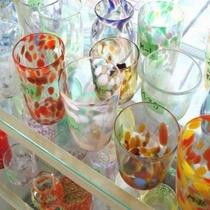 【近隣】ガラス工芸品