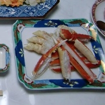 日本海のカニ