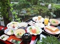 和・洋お選び頂ける御朝食