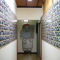 廊下の記念写真
