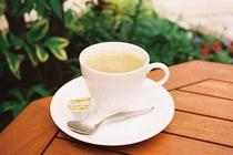 お庭でコーヒーをどうぞ!