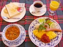 ■ご朝食■デラックスモーニング