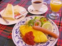 ■ご朝食■オムレツモーニング
