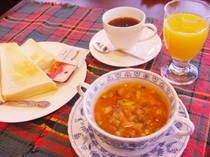 ■ご朝食■食べる元気スープ