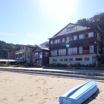 ビーチまで、ダッシュ5秒! 竹野浜に隣接する、旅館 寛(Hiro)です。