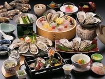 (ご昼食)牡蠣会席