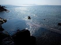 天海の湯・露天風呂(昼)